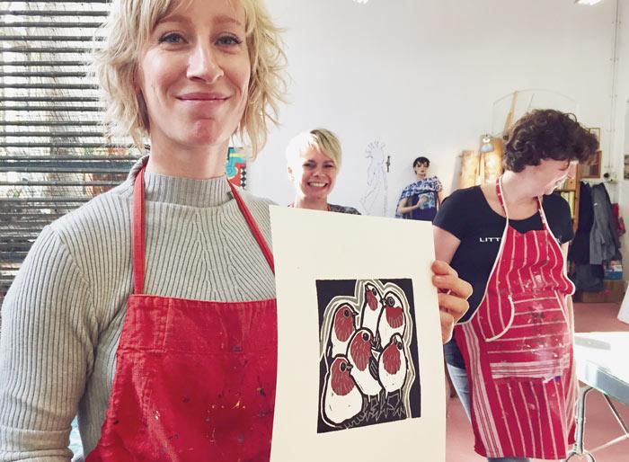 Grafiek Workshop Dordrecht Diana van Hal Dag Workshop